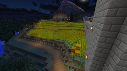 Look ma, farming!