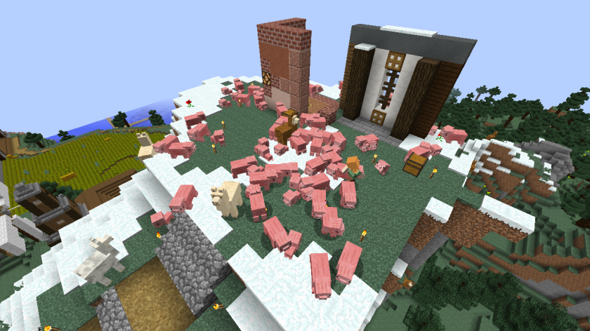 Attack of the pigs